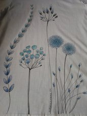Maglietta dipinta a mano