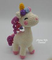 Piccolo unicorno amigurumi