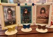 Quadretto decorati per bambine