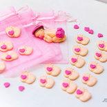 bomboniere piedini, bomboniere nascita, bomboniere piedini in fimo, bomboniere nascita in fimo, bomboniere piedini in fimo, bomboniere gemelli piedini in fimo,