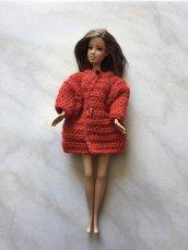 Abbigliamento cappottino barbie