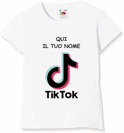 t shirt personalizzata tik tok