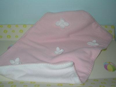 copertina bimba rosa in pile doppia