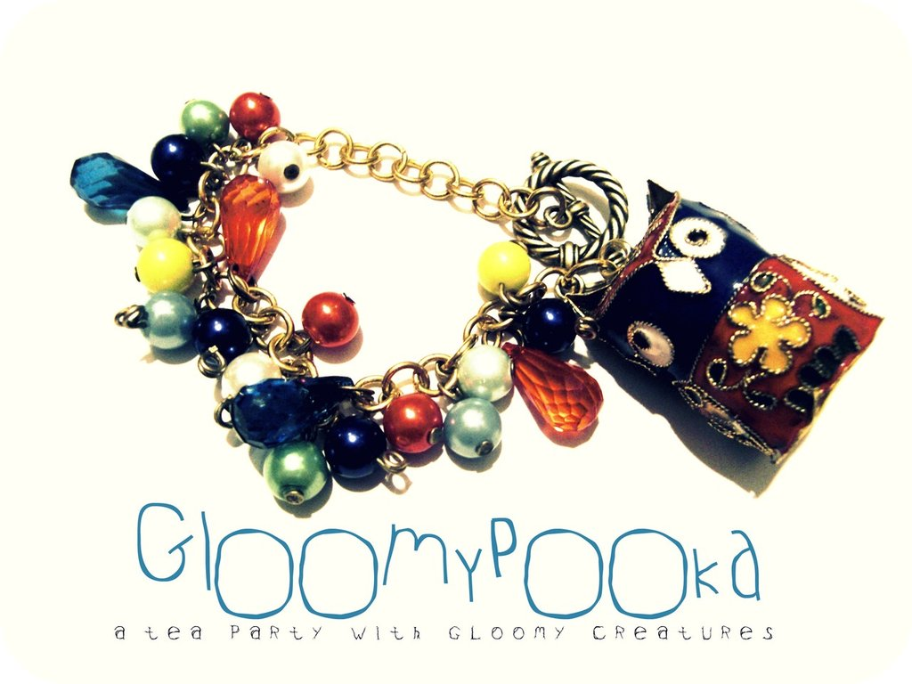 [ Colorful Owlet Bracelet ]