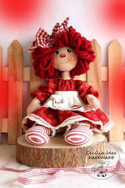 Cartamodello bambola FIORELLA