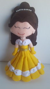 Principessa Belle in pannolenci