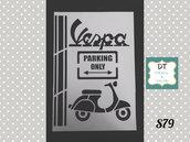 s79 stencil label vespa