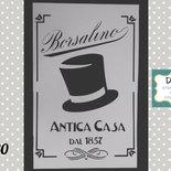 s80 stencil label borsalino
