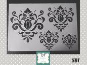 s81 stencil arabeschi mix