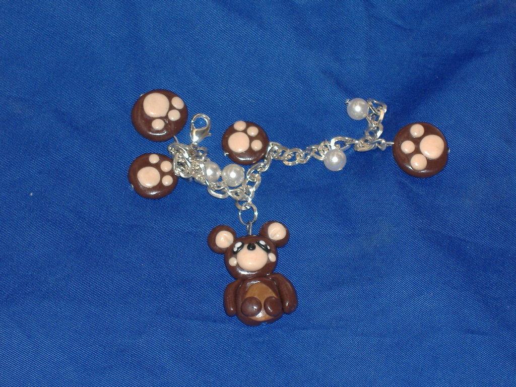 braccialetto orsetto