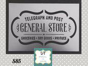 s85 label general store