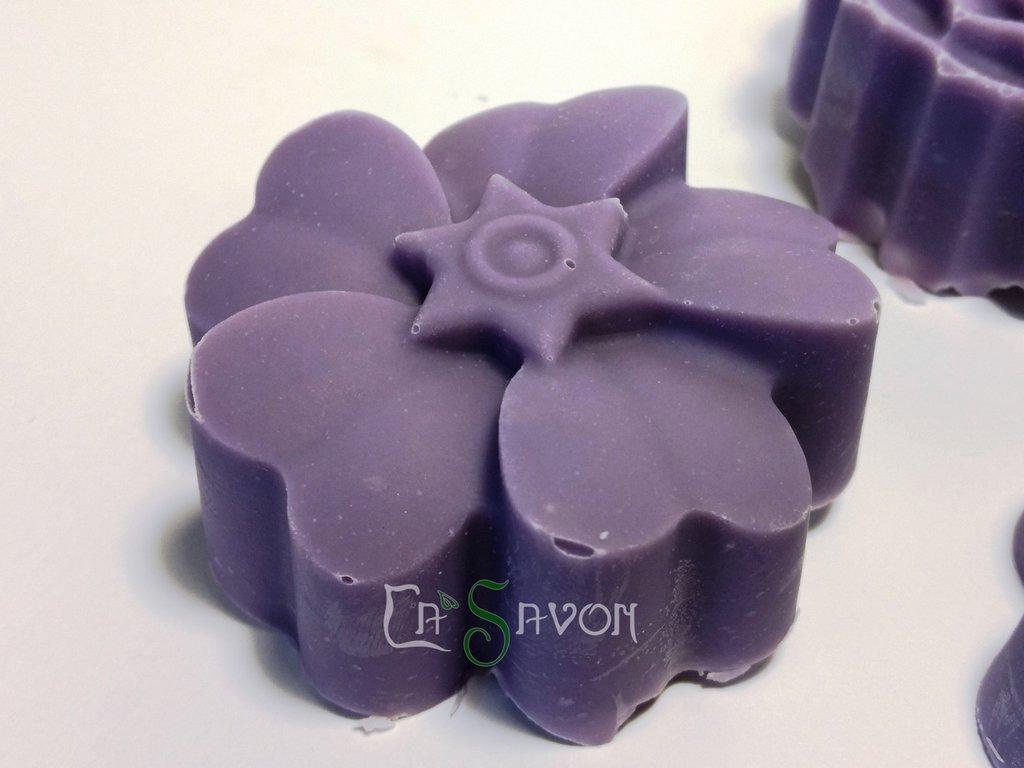 Sapone profumato alla Violetta di Parma, 100% fatto a mano - Violetta di velluto