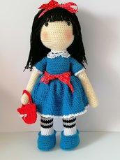 Celeste, bambola amigurumi