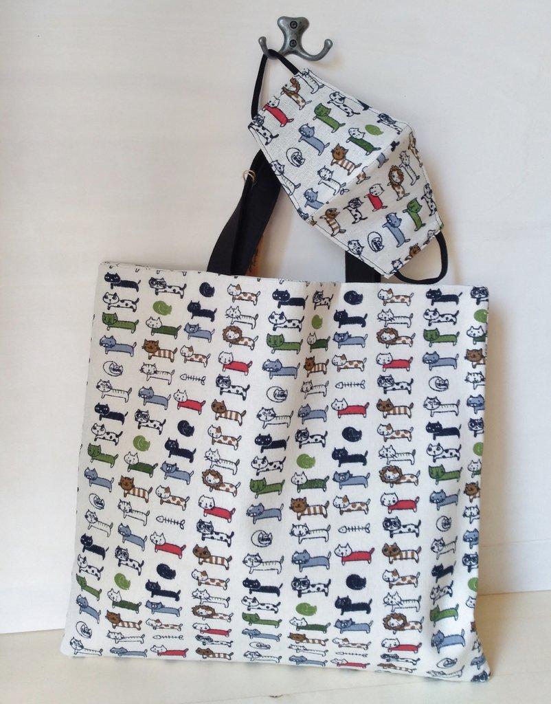 borsa shopping shopper cotone