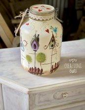 Vaso dipinto a mano by Creazioni GiaRó Ⓒ