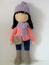 Nevina, bambola amigurumi