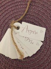 """Mini tag """" Auguri """""""