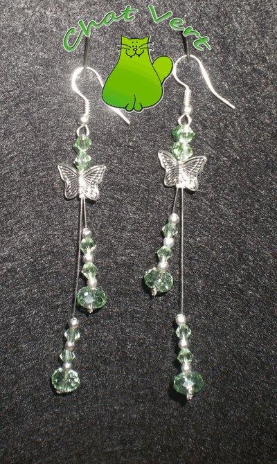 Desiderio di Farfalle Verde