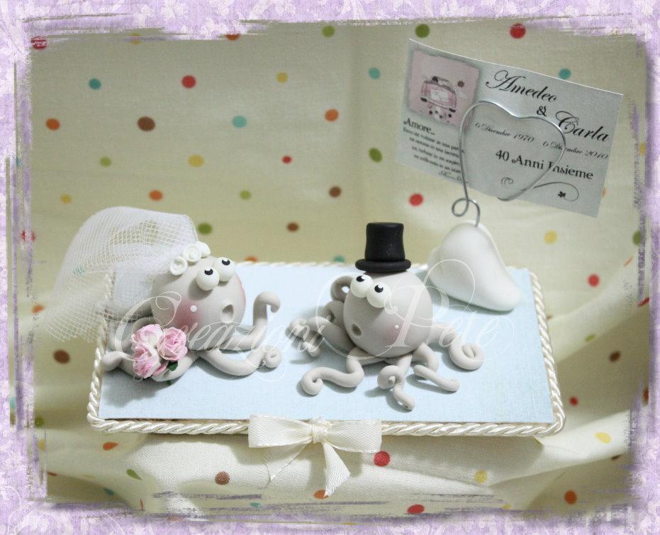 Bomboniera segnaposto per anniversario - matrimonio