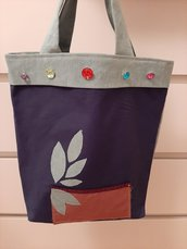 Borse shopper multicolor - Limited Edition Versione GOODMORNING