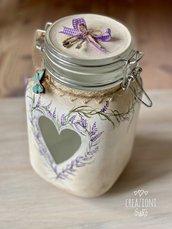 Vaso decorato e dipinto a mano by Creazioni GiaRóⒸ