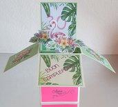 Card in a box compleanno portasoldi