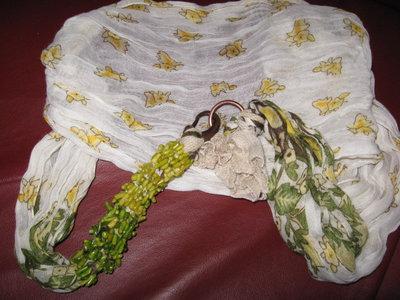 foulard gioiello con gancio-collezione estiva
