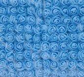 set 50 roselline in crepla con velo pois fiori decorazioni bomboniere sacchettini fai da te