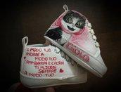 scarpe culla per neonato personalizzate