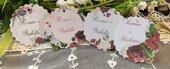 Bigliettino Matrimonio con i fiori