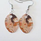 Orecchini con opere di Klimt