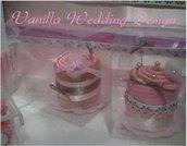 Segnaposto wedding cake per matrimoni