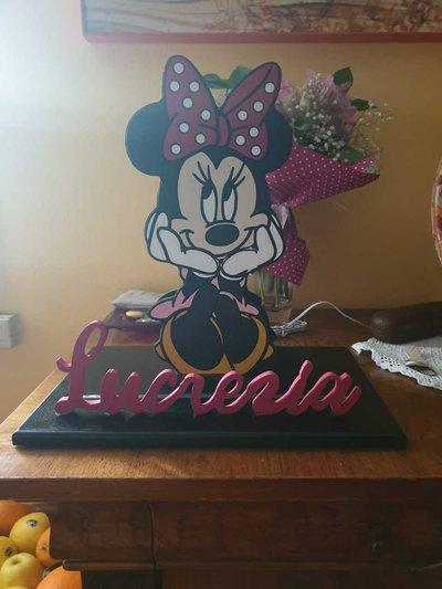 Lampada Minnie per bambini