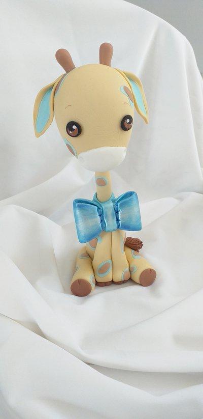 Topper cucciolo di giraffa