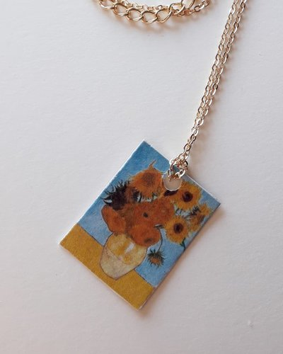 Collana con I Girasoli di Van Gogh
