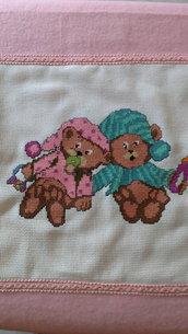 Copertina con orsetti