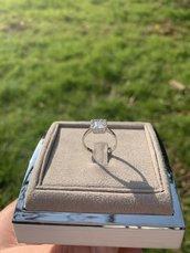 Anello base quadrata
