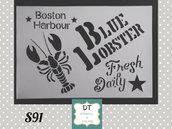 s91 blue lobster