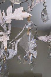 Gocce trasparenti in cristallo Swarovski