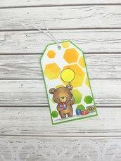 TAG compleanno orso