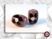 50 Pietre vetro - Barile  - 18 x 13,5 mm - (pack: 50 pezzi)