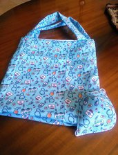 Shopper bag. Borsa.