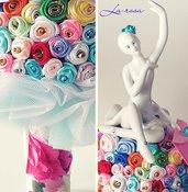 Bouquet idea regalo ballerina