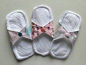 Assorbenti lavabili MINI salvaslip ragazzine