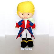 Piccolo principe personaggio 3D