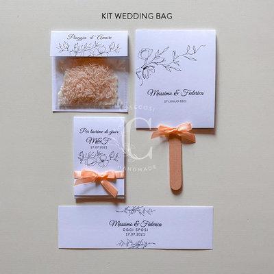 KIT WEDDING BAG - COORDINATO ELEGANCE