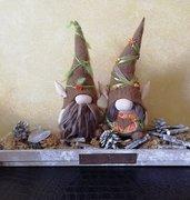 Gnomi. Scandinavian Nordic Decorations. Gnomes.