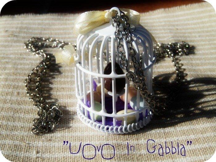 Collana - Uovo in Gabbia