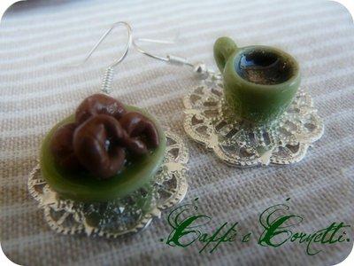 Orecchini - Caffè & Croissant