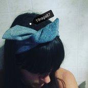 Fascia per capelli con ferretto